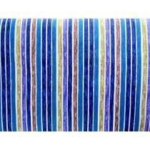 Paint Stripe Cotton- Sea