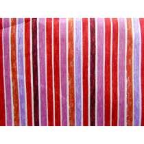 Paint Stripe Cotton- Berry