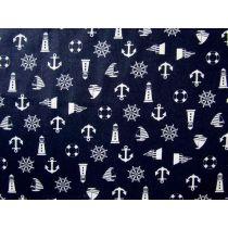 Nautical Notions Cotton- Navy