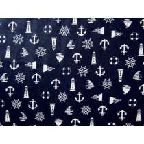 Nautical Notions Cotton- Navy