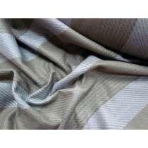 Bobbi Stripe Wool Flannel- Pepper