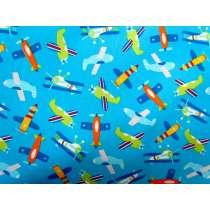 Toy Planes- Aqua