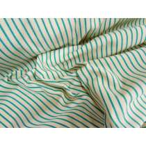 School Stripe- Green / Gold