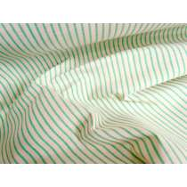 Mint Caramel Stripe Cotton