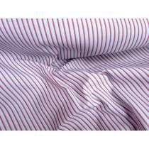 Multi Stripe Cotton- Blue / Maroon