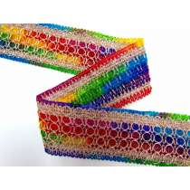 Rainbow Castle Trim- 60mm