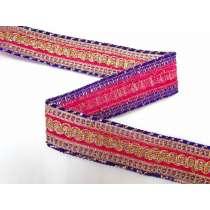 Aladdin's Belt Trim- Pink & Purple