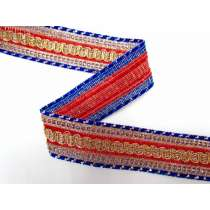 Aladdin's Belt Trim- Red & Royal