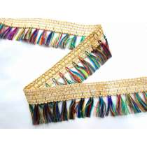 Unicorn Tail Tassel Fringe- Gold