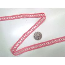 27.4m Roll of Strawberry Sundae Lace Trim