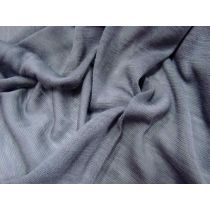 Sheer Tubular Wool Jersey- Cement