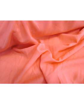 Stretch Chiffon- Coral Red