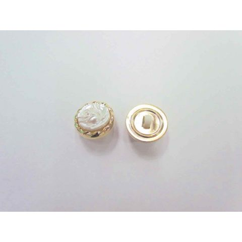 Pearl Rose Couture Buttons- CB197