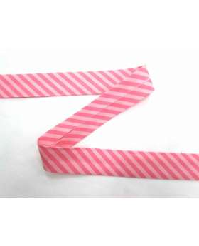 A Day In The Country Bias- Tone on Tone Stripe- Pink