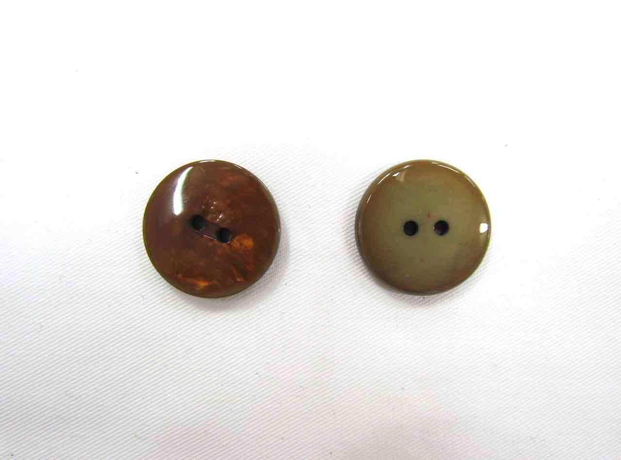 Opalescent Bronze Couture Buttons- CB213