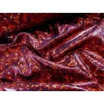 Dark Shattered Glass- Red on Black