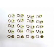 10mm Fashion Eyelet- Baby Yellow 20 for $2 RW206