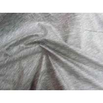 Laminated Water Resistant Jersey- Grey Marle