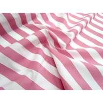Striped Cotton Poplin- Pink