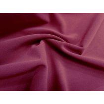 Bonded Crepe- Crimson