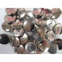 Silver Mirror Couture Buttons- CB224