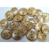 Large Anchor Couture Buttons- CB232