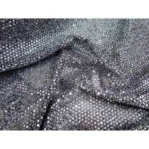 2mm American Sequins- Silver/Black