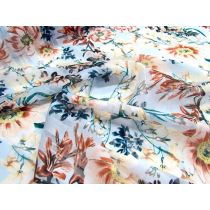 Natures Garden Satin Stripe Chiffon