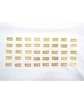 Metal Lingerie Strap Hooks RW216- 40 for $3