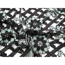 Mediterranean Coast Lace- Black
