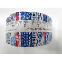 Moda Feed Sacks: True Blue Jelly Roll