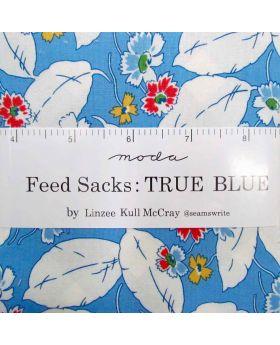 Moda Feed Sacks: True Blue Charm Pack