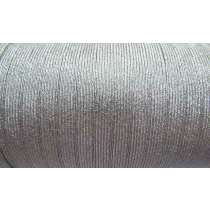 9mm Silver Metallic Elastic