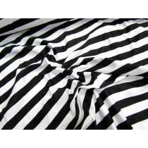 Stripe Spandex- Black/White