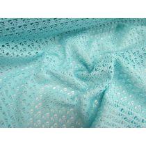 Crochet Look Spandex- Bubble Gum