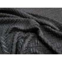Frill Lace Knit- Black