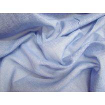 Textured Voile- Light Denim Blue