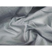 Textured Voile- Cold Grey