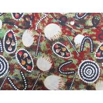 Tree Snake Gathering Cotton- Brown