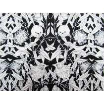 Wrens & Eucalyptus Cotton- Black