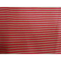 A Day In The Country- Festival Stripe- Brown/Red