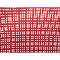 A Day In The Country- Basket Weave- Red