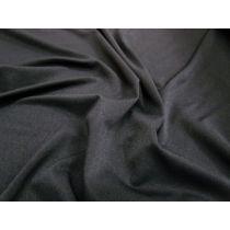 Sheer 2-Way Stretch Jersey Spandex- Black