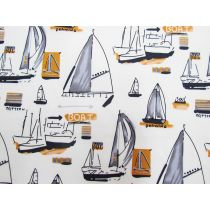 Yacht Club Cotton- Cream