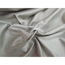 Cotton Blend Sateen- Harbour Grey