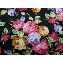 Tea Rose Cotton- Black