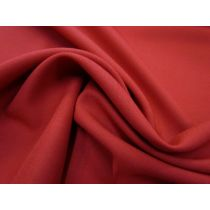 Australian Made Wool Blend Suiting- Rover Red