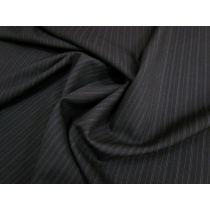 Not Your Average Wool Blend Pinstripe Suiting