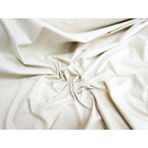 Ivory Twinkle Metallic Jersey