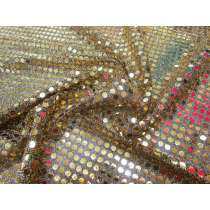 6mm American Sequins- Gold/Black
